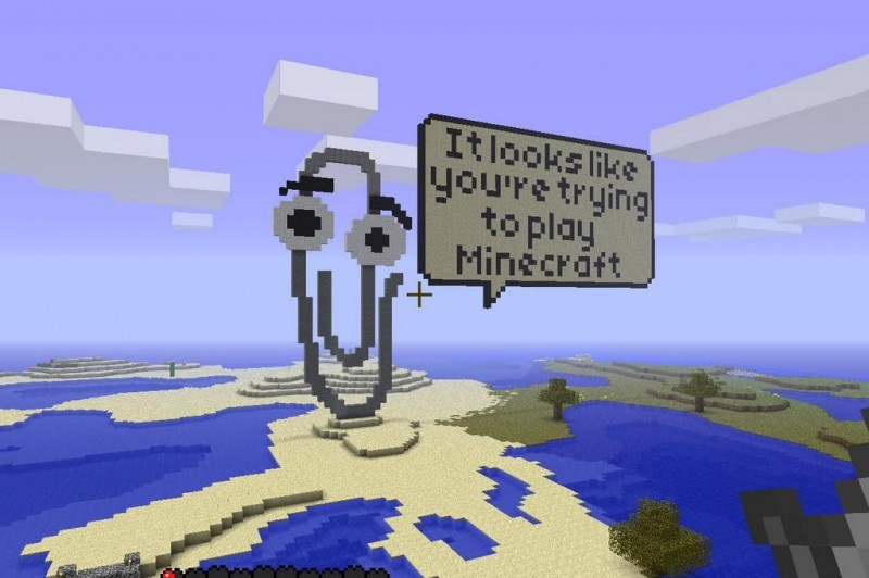 Minecraft_Office_paperclip