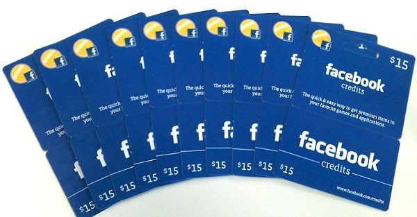 fb gift card
